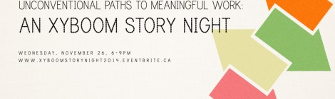 An XYBOOM Story Night: Coming Nov. 26th, 2014